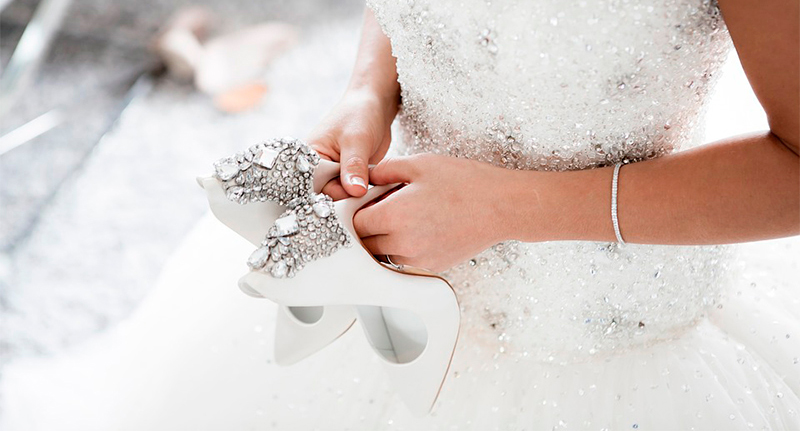 How to choose the perfect wedding shoes for your special day